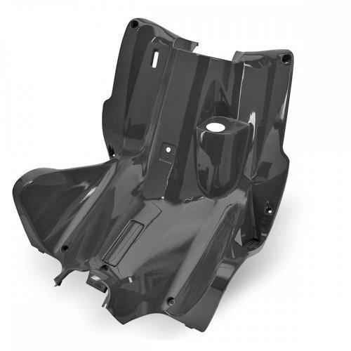 Gamba scudo/abitacolo travestimento–tnt per Yamaha Aerox/MBK Nitro–Non Verniciato Nero