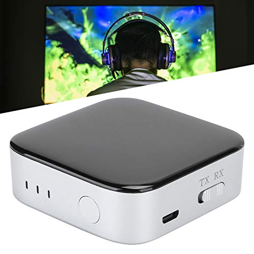Gaeirt Transmisor de Audio con batería Recargable incorporada Receptor de Audio, para TV, para Reproductor de CD, MP3