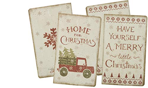 """Primitives By Kathy Dan DiPaolo Vintage Truck List Notepad /""""Home For Christmas/"""""""