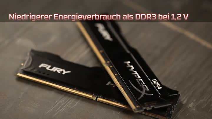 Hyperx Hx424c15fbk4 16 Fury Schwarz Ddr4 16gb 2400mhz Computer Zubehör