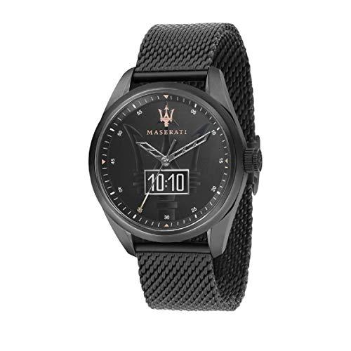Orologio da uomo, Collezione TRAGUARDO SMART, in acciaio, PVD canna di fucile - R8853112001
