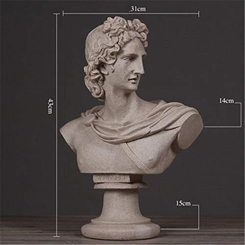 YUQZYT Escultura Estatuaescultura Abstractaestatua Decoración Nórdica para El Hogar Resina Arte Y Artesanía
