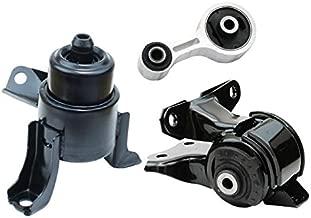 K2078 Fits 2003-2008 Mazda 6 i Sedan 2.3L AUTO Engine Motor Mount Set 3pcs : A6494, GJ6A-39-070, A6497