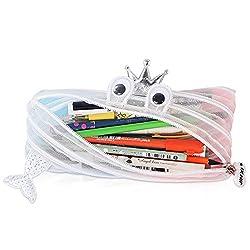 MARSACEモンスターペンケース 鉛筆収納ケース ユニーク筆箱 鉛筆入れ ジッパーペンケース 男の子 女の子 かわいい おしゃれ 大容量