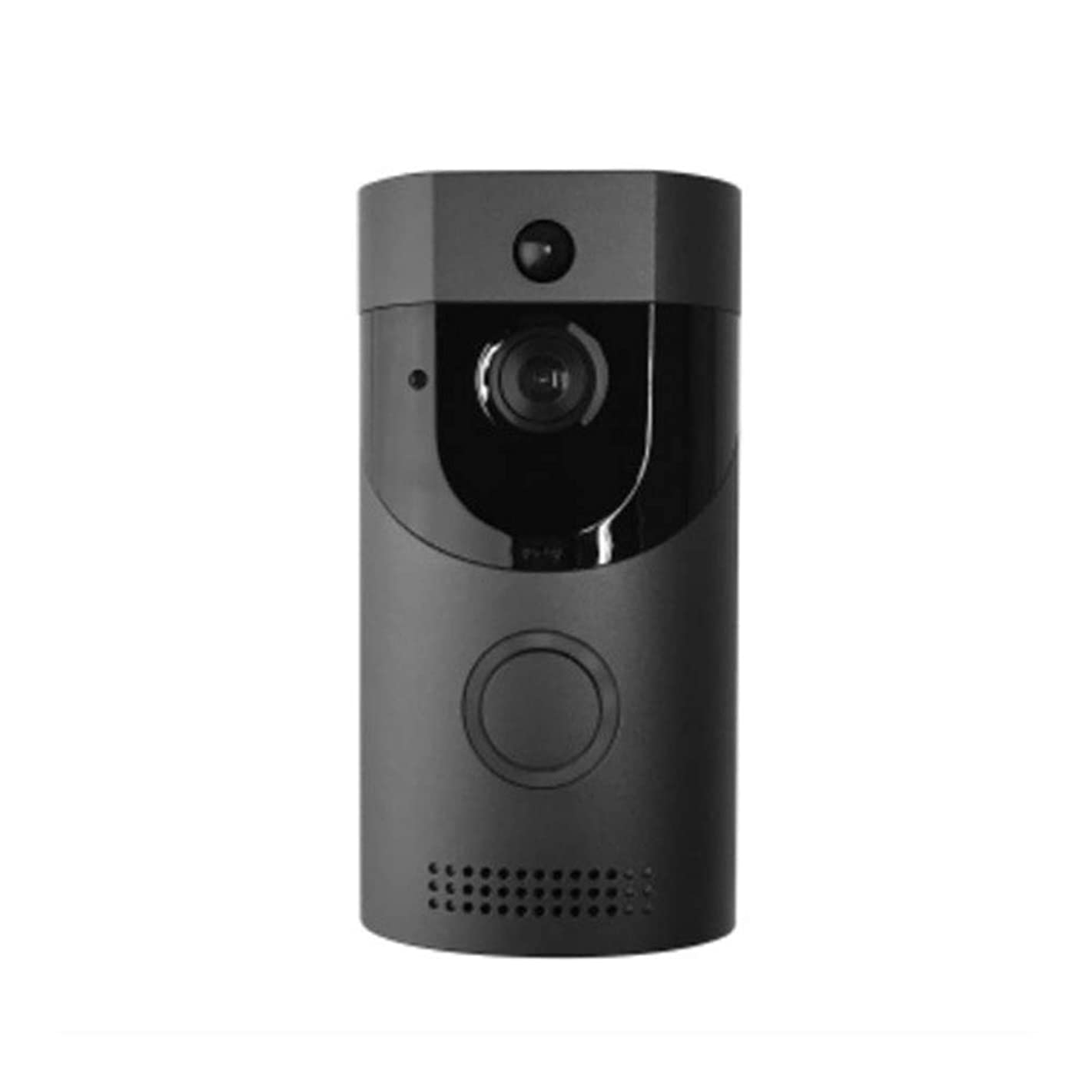 ZHANGZ0 Video Doorbell Mobile Remote Wireless Video Intercom WiFi Home HD Night Vision Monitoring Suitable for Families Hotels,Black