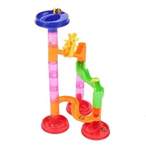 Run Sets para Niños, Circuito de Canicas Juguete de Ladrillo Juguetes Maze Balls Toy Ayuda a Capacidad de Coordinación Mano-cerebro Juguetes Educativos para Niños(29PCS678-1)