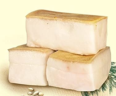 """Imported Pork Belly """"Salo"""" with eatable rind(skin) 1lb by HolanDeli"""