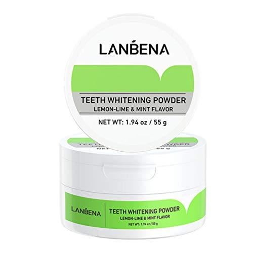 MILISTEN Tandpoeder Tandreinigingspoeder Tanden Bleken Leveringen Voor Vrouw Man Volwassene
