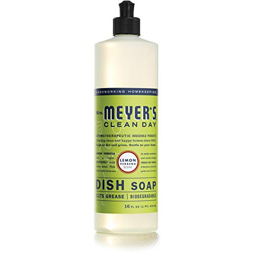 (49% OFF) Mrs. Meyer's Lemon Verbena Liquid Dish Soap – 16 ounce bottle $3.88 – Coupon Code