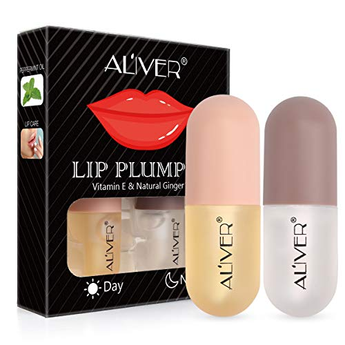 Natural Lip Plumper, Plant Extracts Plumping Lip Serum,Lip Enhancer, Lip Plumping Balm, Moisturizing...