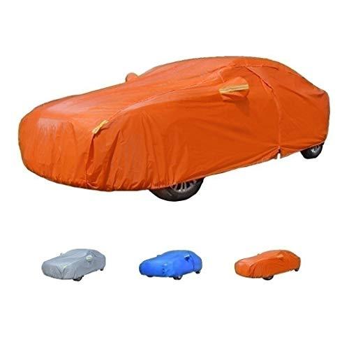 Telo Copriauto Compatibile Con Cover Car Mercedes-Benz SLK Class, Premium Bayer Material For All-Tempo Protezione, 4 Colori (Color : Orange)