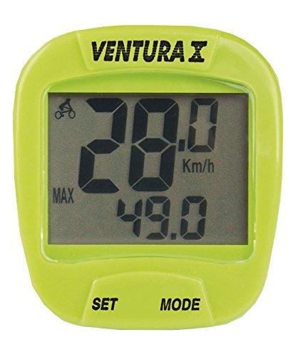 VENTURA Fahrradcomputer 390343, Grün