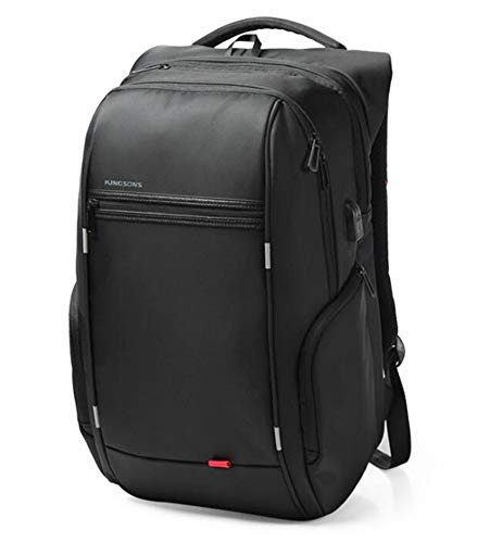 Men's Business Backpack, 15 and 17 Laptop Backpack, External USB Charging Backpack, Computer Backpack, Waterproof Anti-Theft Bags for Men Unisex