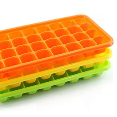 (Pack of 2) Bio Tank, Ice Tray, Small Ice Cube, 32 Cube X 2 Trays, Easy Release, No Bpa, Most Durable Quality
