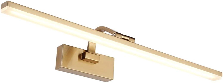 Spiegelscheinwerfer, Spiegelleuchten, Tageslicht, Spiegelfrontleuchten, LED-Spiegelschrankleuchten, Schminktischlampen, Make-up-Lampen, Badezimmerwandlampen (Größe   41cm)