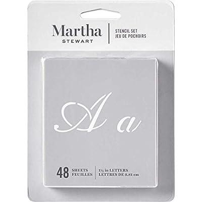 Martha Stewart Crafts Alphabet Stencils