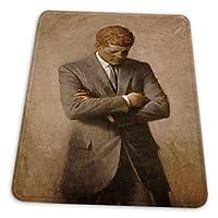 マウスパッド ゲーミングマウスパッド-ジョンFケネディ公式大統領肖像滑り止め デスクマット 水洗い 25x30cm