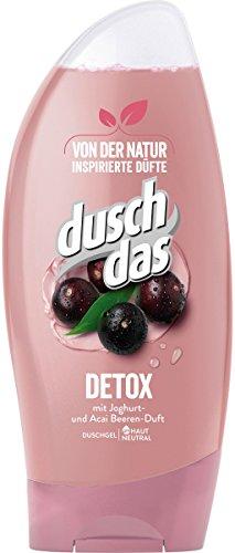 Duschdas Duschgel Detox, 6er Pack (6 x 250 ml)