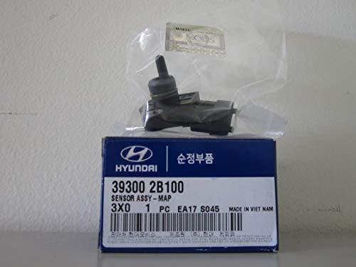 HYUNDAI Genuine 39300-2B100 MAP Sensor Assembly, Black