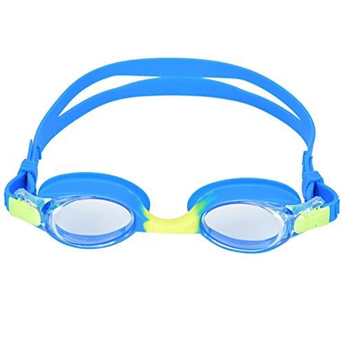 Occhiali da surf per bambini Cartoon Surfing Goggles Antifog 3 colori per Chilsren(J06 fibbia automatica blu giallo)