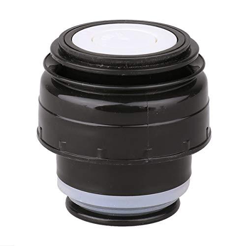 TiaoBug Isolierflasche Deckel Thermosflasche Outdoor Flaschen Ersatzdeckel auslaufsicher Trinkflasche Reise Cup Mug Becher 4.5cm/5,2 cm Durchmesser Schwarz B Durchmesser 4.5cm