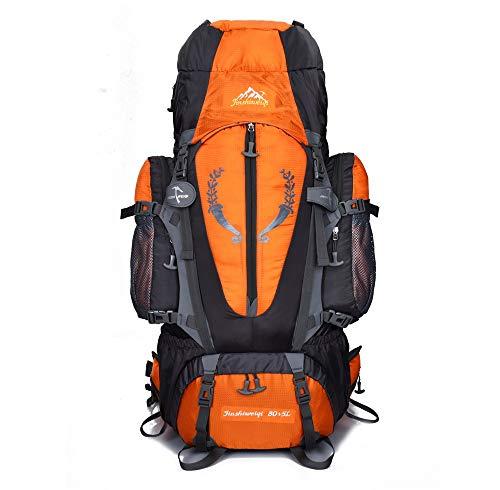 Mochila de viaje 80L Unisex Trekking Bag Mochila montañismo al aire libre Mochila...
