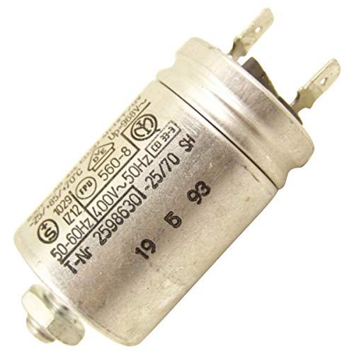 Condensateur 3µF Lave-vaisselle 481912118102 WHIRLPOOL