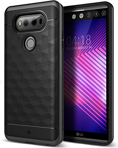 Caseology Parallax for LG V20 Case (2016) - Award Winning Design - Black