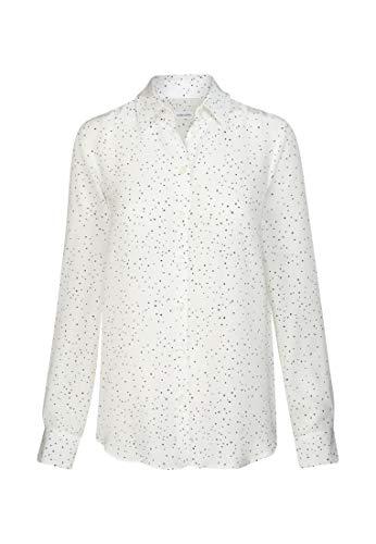 Seidensticker Fashion Bluse 1/1, Negro (1), 50 para Mujer