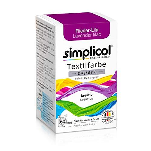 Simplicol Expert Tintura Tessuti Lavatrice o Colorazione Manuale: Tingi, Colora e Ripristina Tessuti e Vestiti - Porpora