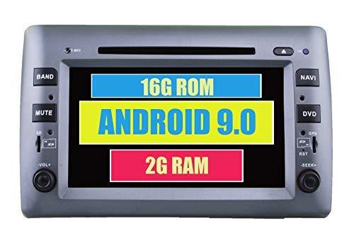 LYHY Autoradio Sistema Android Autoradio Dvd GPS per Fiat Stilo 2002-2010 con Multimedia Stereo Navigation Radio Bluetooth PhoneLink