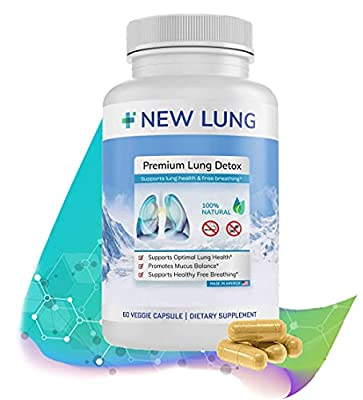 Lung Detox ⭐ Premium - Lung Cleanse ►Top Rated Herbal Lung Cleanse & Detox. Supports Healthy Lungs & Sinus from Harmful Effects of Smoggy Cities & Years of Smoking & Vaping. Natural. Non-GMO. from Success Chemistry