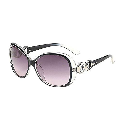 Longra Sonnenbrillen Damen Herren UV400 Vintage Retro Sonnenbrille Autofahrer Anti-Reflexion Nachtsicht Brille Fahrbrille Sportsonnenbrille Chic Eyewear Strand Sonnenbrille Super Coole Sunglasses