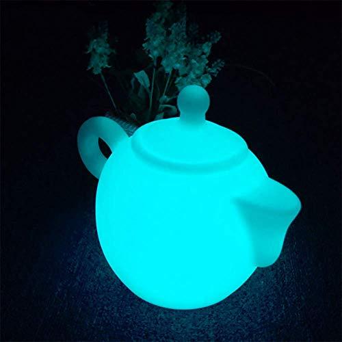 OOFAY& LED Teekanne Nachtlicht Dimmbar Wasserdicht Tischlampe 8 Farben Veränderung Zum Bar Kinder Schlafzimmer Zuhause Dekoration