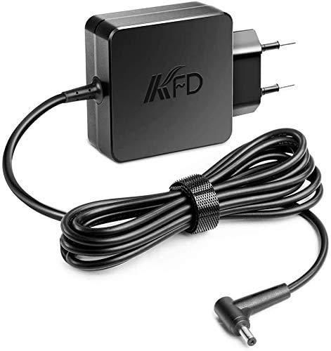 KFD 45W Cargador Adaptador de Corriente para ASUS X553 X553M X553MA X553S X553SA X540 X540L X540LA X540S X540SA X540U X540UA M433IA X541 X541SA X541UA X541U X541S X541SC F510 F510UA F510U 19V 2,37A