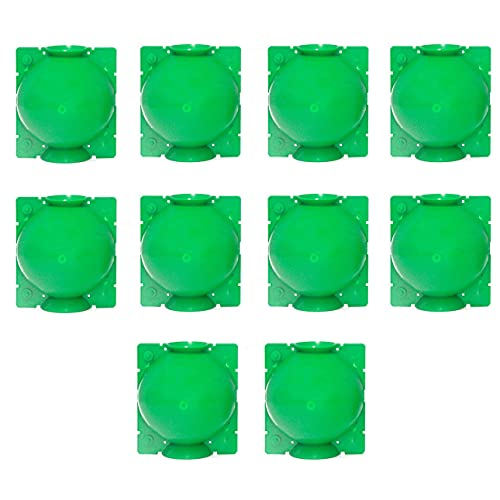 Kuyoly 10 Hochdruck Klon Kopieren Ball für Garten Gepfropften Schössling, Pflanze Ramets Wurzelwachstum Ausrüstung Wachsende Box Zuchtfall Transplantation (S (5.3 * 5.3 * 7))