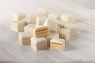 White Party Petit Fours - Gourmet Frozen Bite Size Desserts (60 Piece Tray)