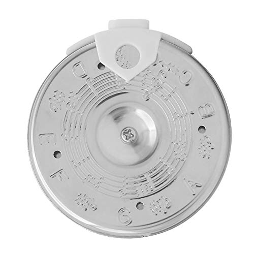 Pitch Pipe Tuner Chromatic Tuning Tool 13 A003AP PC-C Instrument Accessory for Singers Musicians Silver