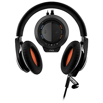RIG Stereo Gaming Headset with Mixer for PC/Mac - Retail Packaging - Black