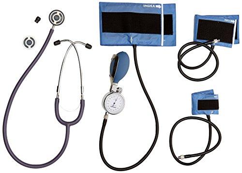 Riester 1440-501 babyphon Ø49 mm, brazalete de velcro para niños, lactantes y neonatos, duplex baby