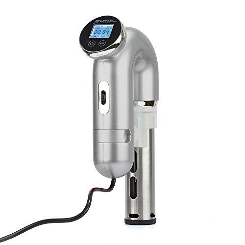 Melianda MA-18100 Sous Vide Stick Niedrigtemperatur Vakuumgarer Digital-Timer silber