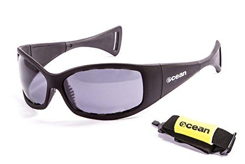 Ocean Sunglasses - Mentaway - lunettes de soleil polarisées - Monture : Noir Laqué - Verres : Fumée (1111.1)