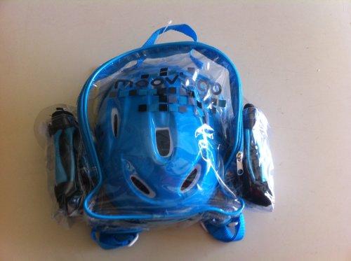 Set de protection pour rollers ou trotinnettes taille xs bleu
