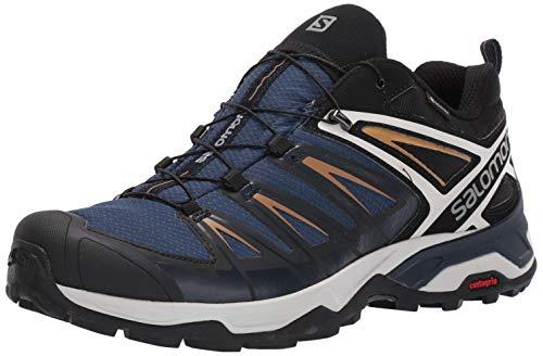 SALOMON Herren Shoes X Ultra Wanderschuhe, Mehrfarbig (Sargassosee/Dunkler Saphir/Bistre), 43 1/3 EU