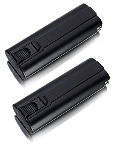 2 Pack of Paslode 6V 404717 Replacement Battery for 900420 900600 IM250 IM250A IM250 901000 (2000mAh, 6V, NICD)