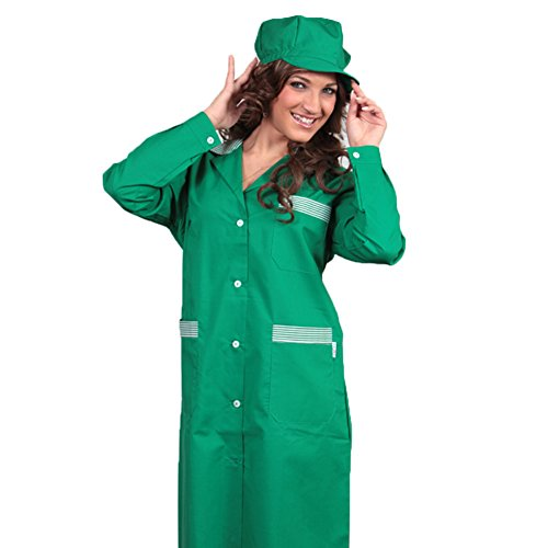 Fratelliditalia Camice da Donna Bicolore Lavoro Pulizie Domestica operaia Fabbrica Alimentare