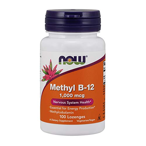 Now Foods Methyl B-12 1000mcg Standard - 100 Cápsulas