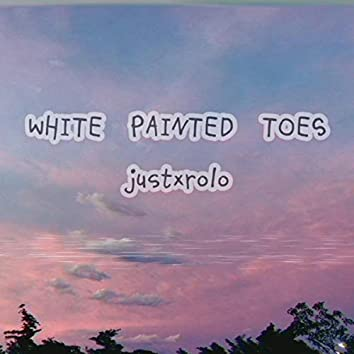 WHITE PAINTED TOES