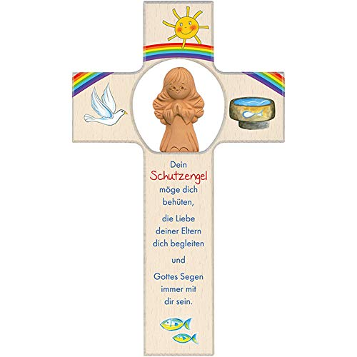 Fritz Cox Kinderkreuz Dein Schutzengel 220105 (Tonengel)