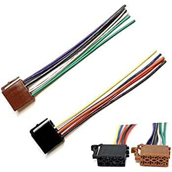 [NRIO_4796]   Amazon.com: ASC Car Stereo Radio Replacement Wire Harness Plug for Select Boss  Audio 16 Pin Aftermarket Radios: Car Electronics | Boss Car Stereo Aftermarket Wiring Harness |  | Amazon.com